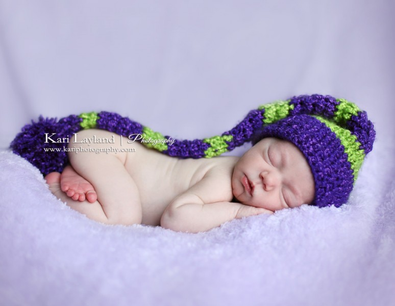 Sleeping Newborn Girl