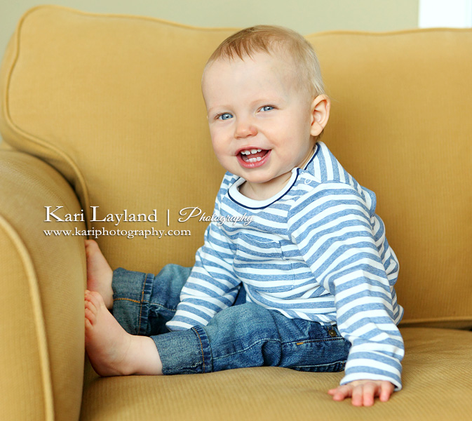 1 yr old boy portrait