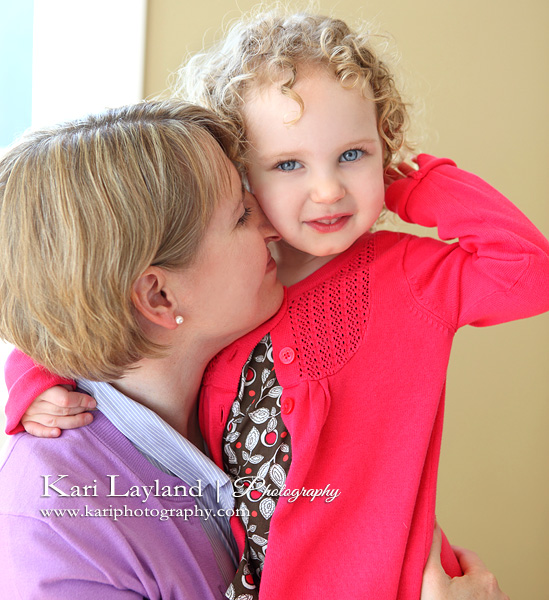 Mother daughter portrait photography MN