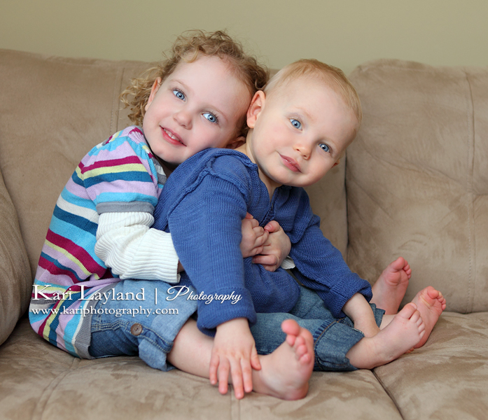 Sibling love - MN child photography