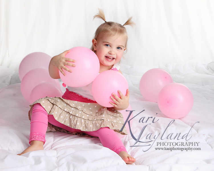 Kari Layland Photography child birthday photographers