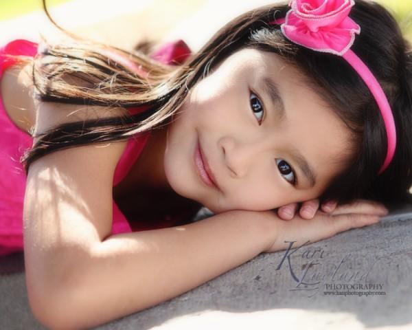 Little girl portrait | Kari Layland - MN portrait