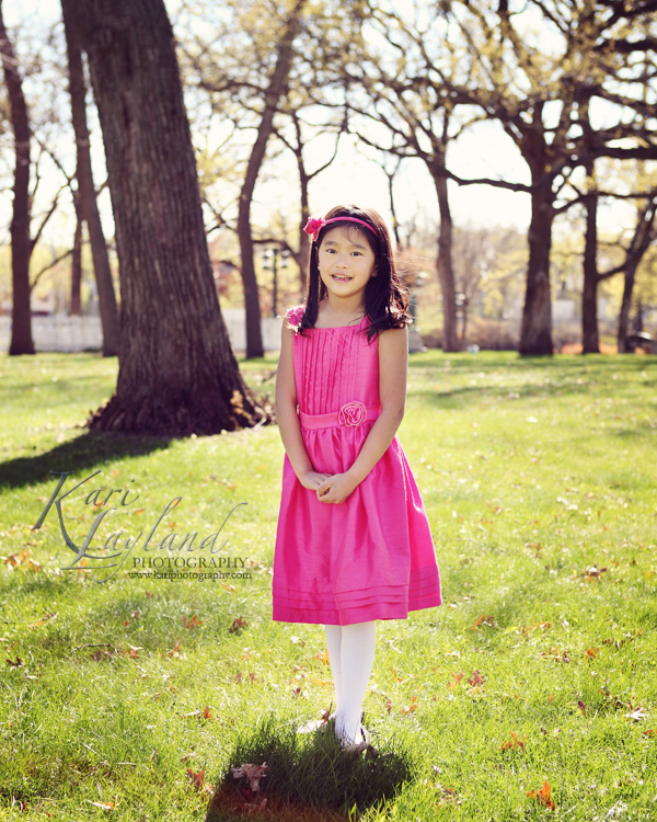 Kids portrait photographer MN