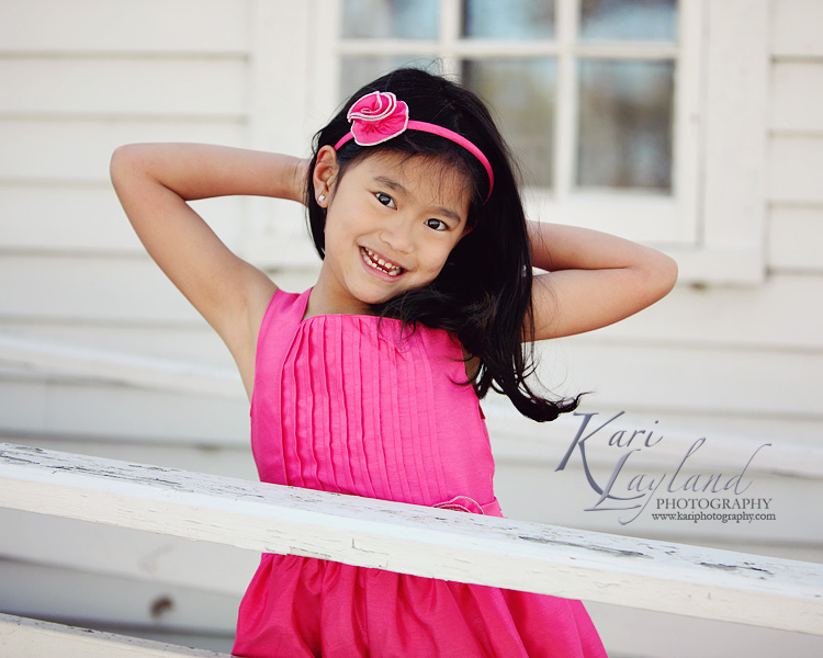 Little girl posing, MN child photographer