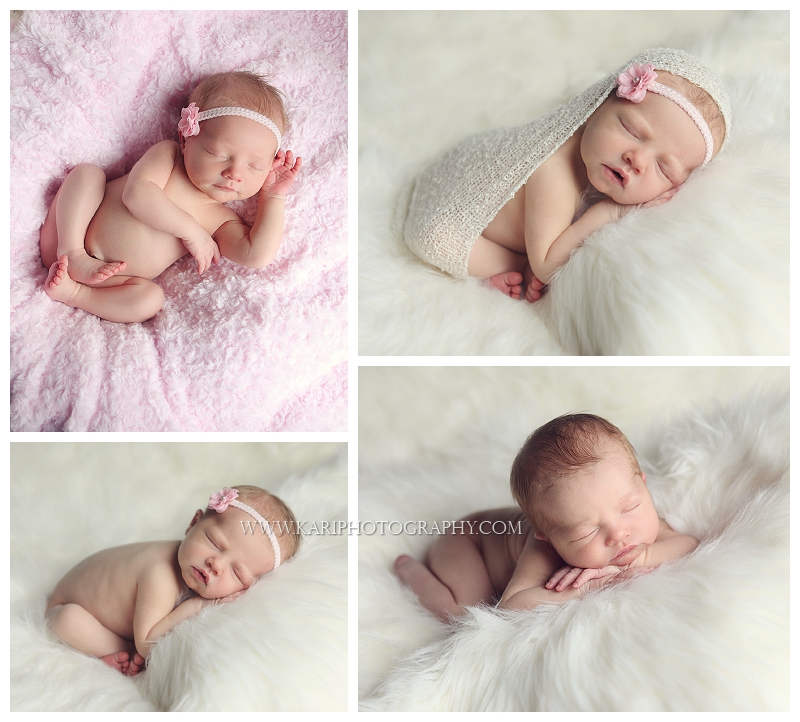 Sleeping newborn baby portraits mn newborn baby photographers in minnesota