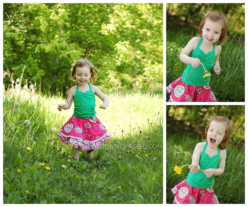 Outdoor child photography Minnesota