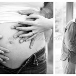 black and white pregnancy photos