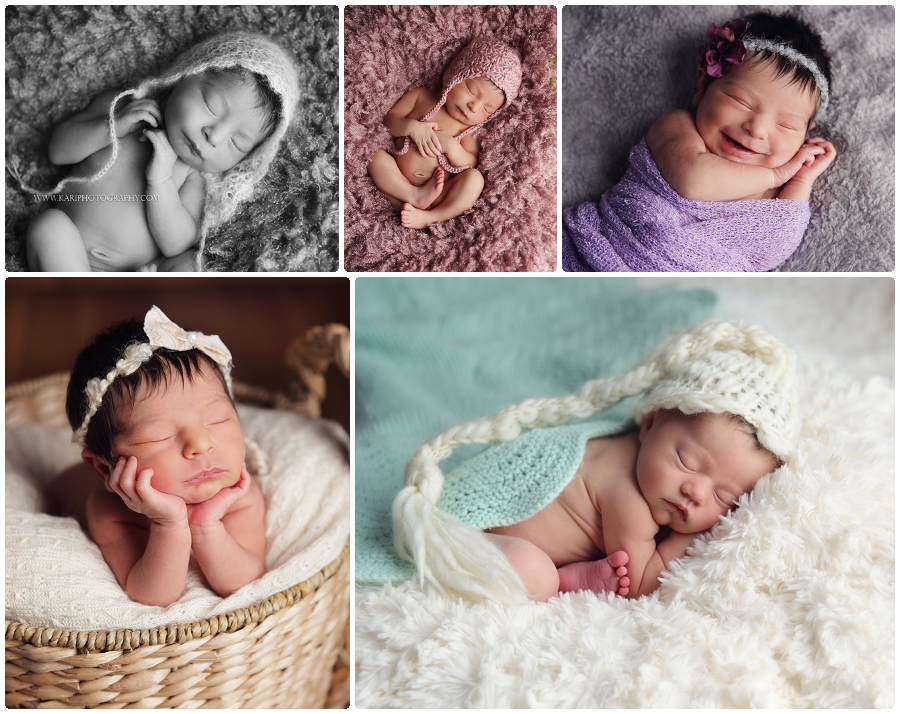 Newborn baby photography MN