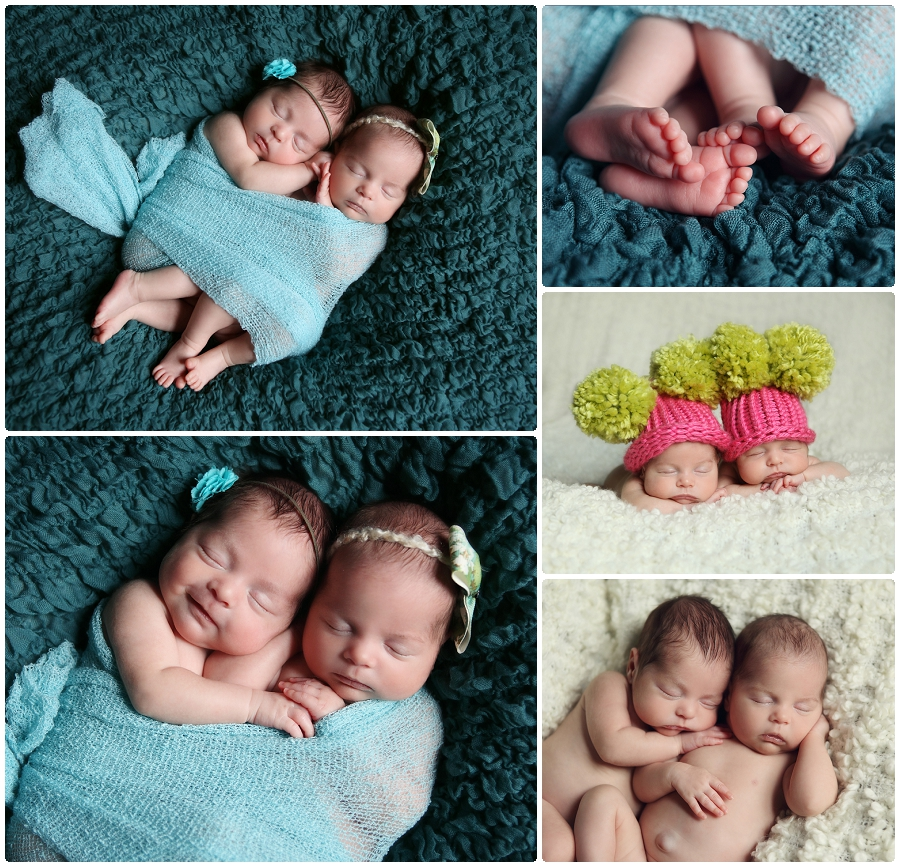 Newborn twins photography MN