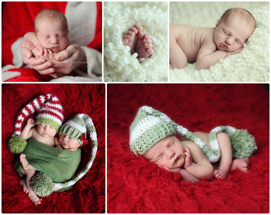 Winter newborn photography Cottage Grove, Minnesota