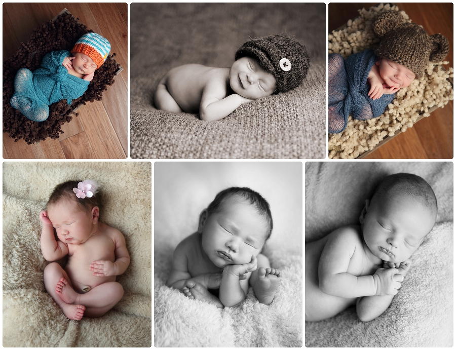 Sleepy newborn photography MN