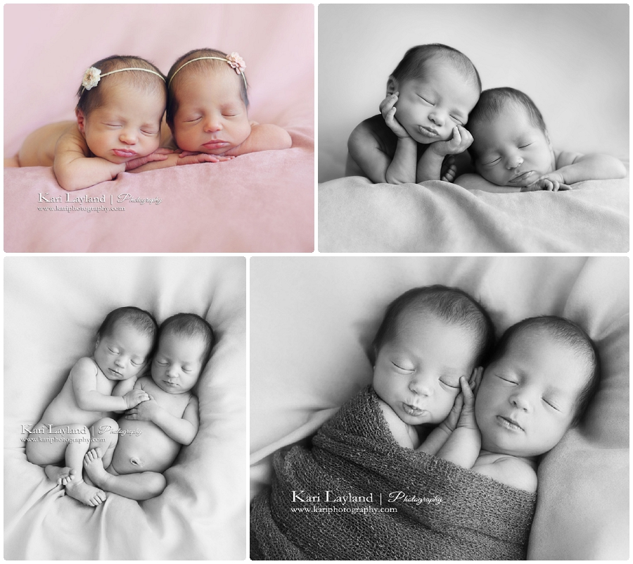 Infant photographer for multiples Minnesota