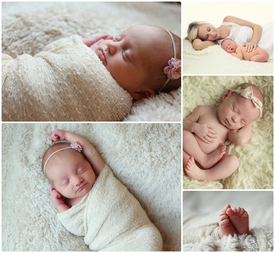 Newborn baby portraits Minnesota, in home or in studio